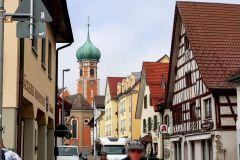 Dorfstraße von Allenbach
