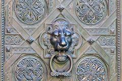 Tür der Kathedrale