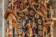 St.Nikolaus Kathedrale Seitenschiff