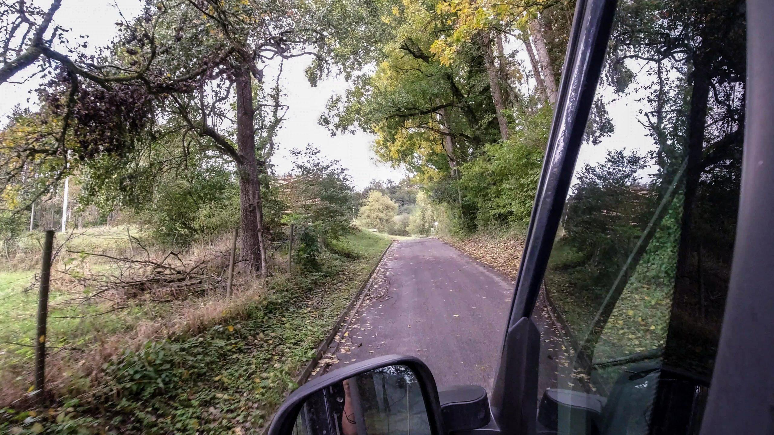 Anfahrt zu Friedensbaum