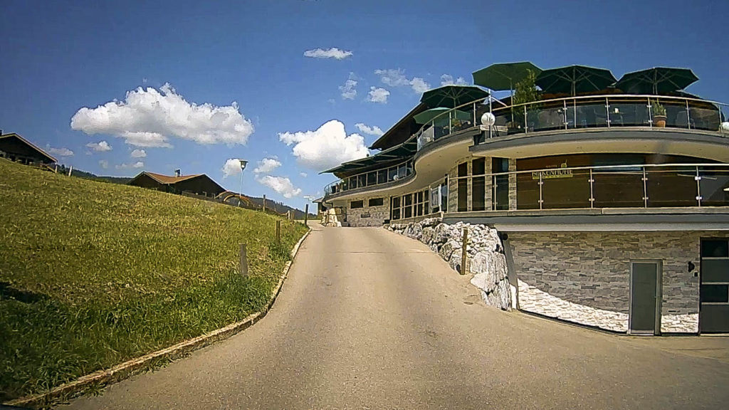 Anfahrt Hirschegg