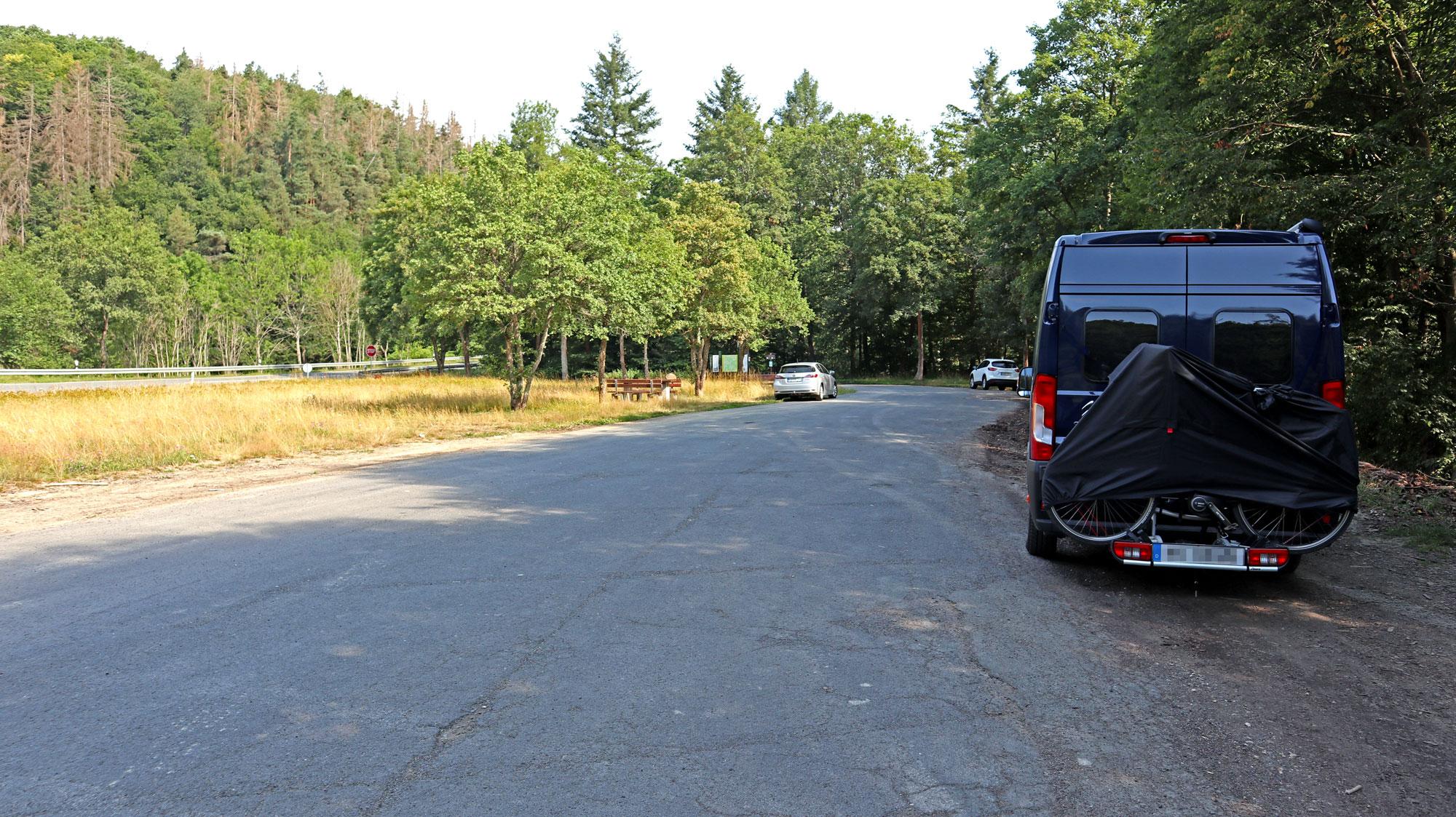 Parkplatz bei Idstein