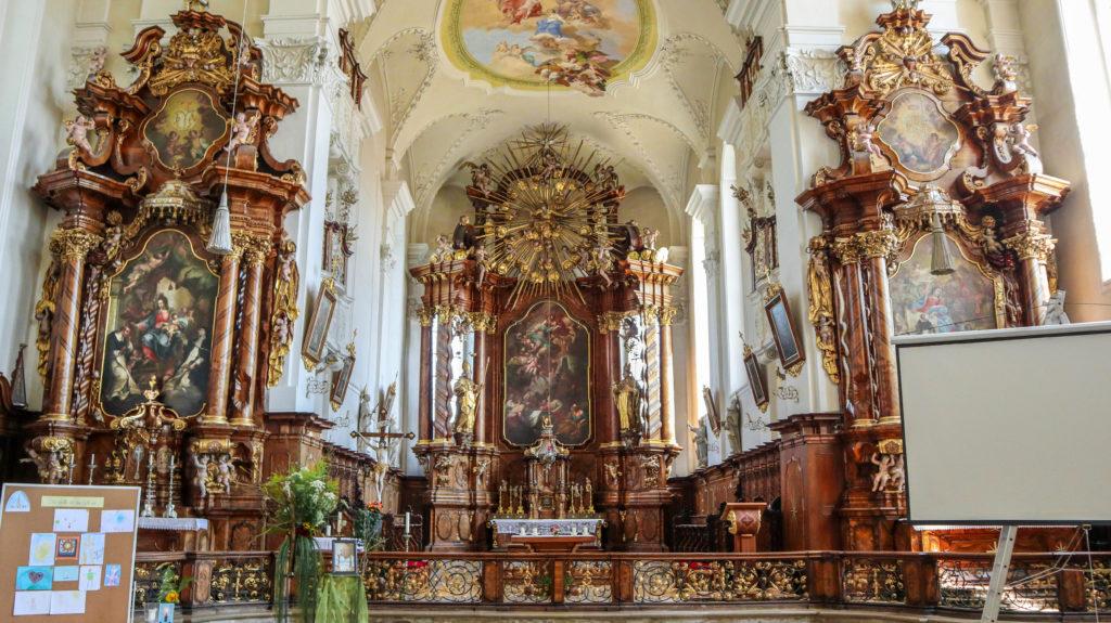 Kirche Hauptaltar