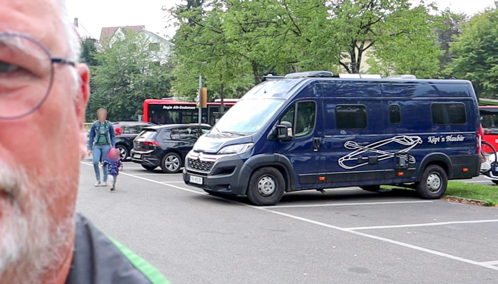 Parkplatz Überlingen