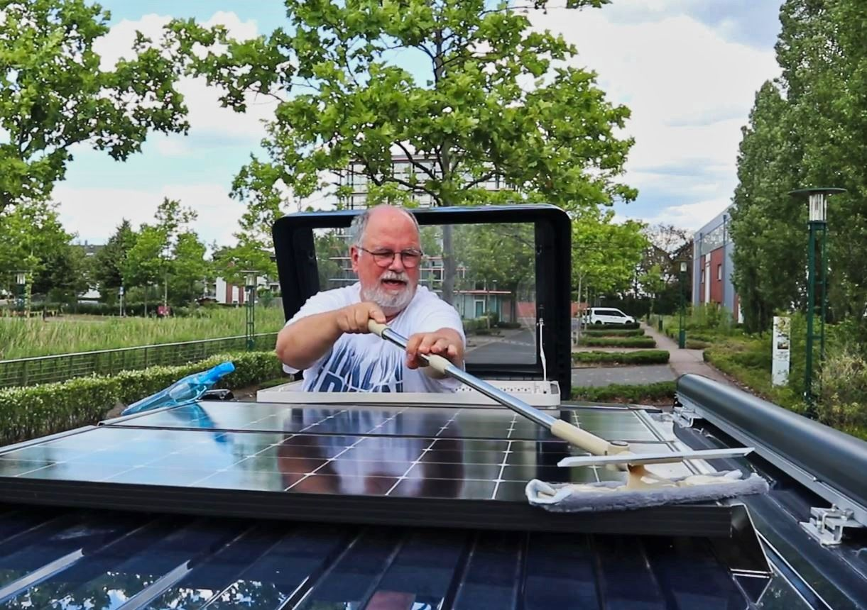 Solar putzen